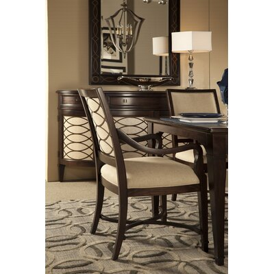 Andraid Upholstered Arm Chair (Set of 2)