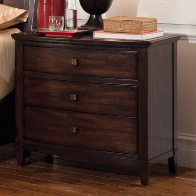 Andraid 3 Drawer Nightstand