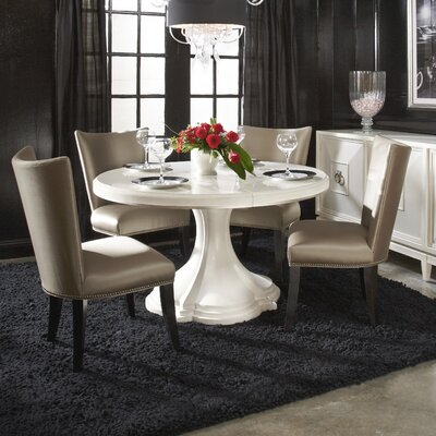 Harbert Dining Table Color: White