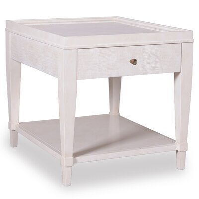 Harbert End Table Color: Parchment