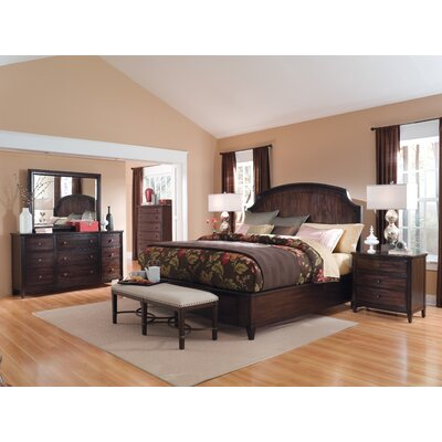 Andraid Panel Customizable Bedroom Set-Andraid 2 Drawer Nightstand
