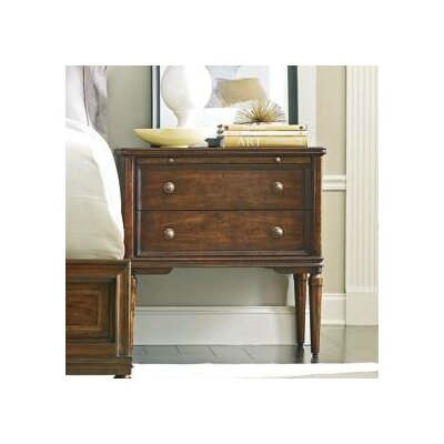 Hyde 2 Drawer Nightstand