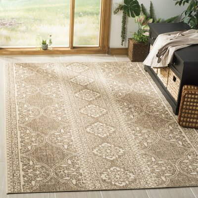 Dunnyvadden Cream/Beige Area Rug Rug Size: Rectangle 51 x 76