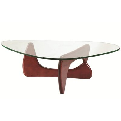 Tribeca Coffee Table Base Finish: Cherry