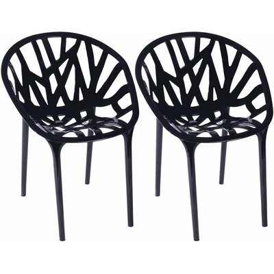 Branch Side Chair Finish: Black