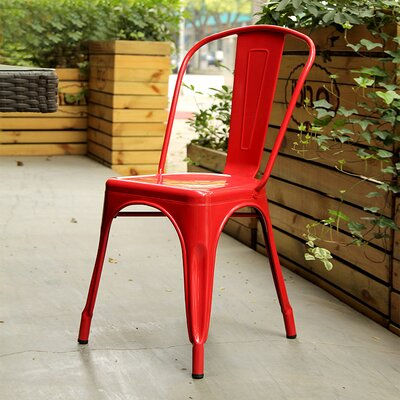Tolic Side Chair Finish: Red