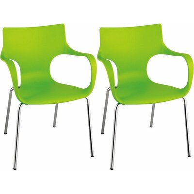 Phin Arm Chair Finish: Green