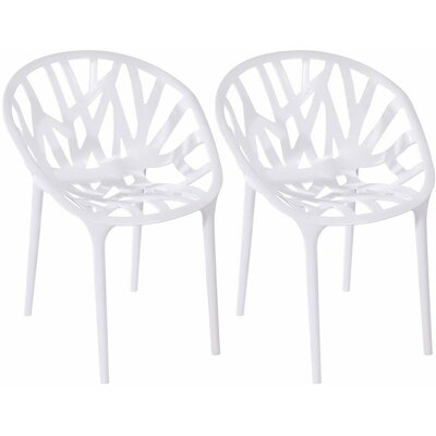 Branch Side Chair Finish: White