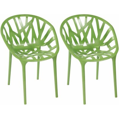 Branch Side Chair Finish: Green