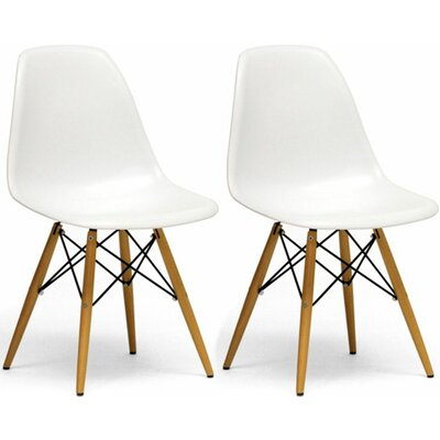 Paris Tower Side Chair Finish: White