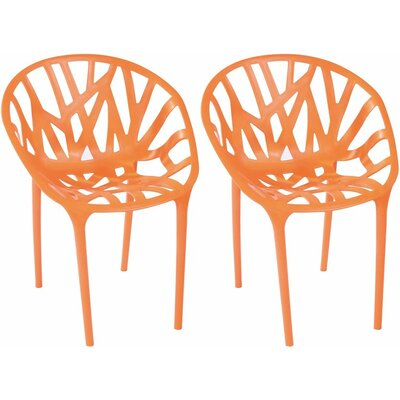 Branch Side Chair Finish: Orange