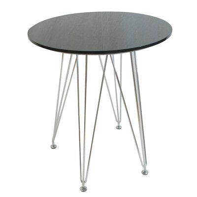 Paris Tower Dining Table Top Finish: Black
