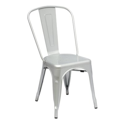 Tolic Side Chair Finish: Gun Metal