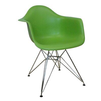 Paris Tower Arm Chair Finish: Green