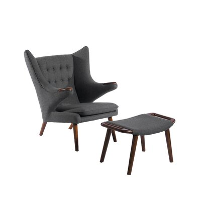 Phante Lounge Chair and Ottoman