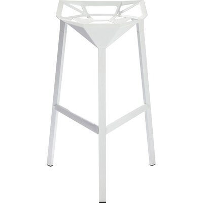 33 Bar Stool Finish: White