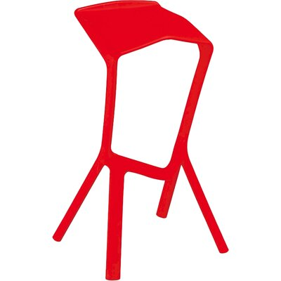 32 Bar Stool Finish: Red