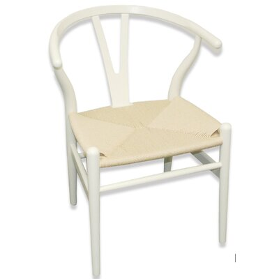 W Side Chair Finish: Ivory
