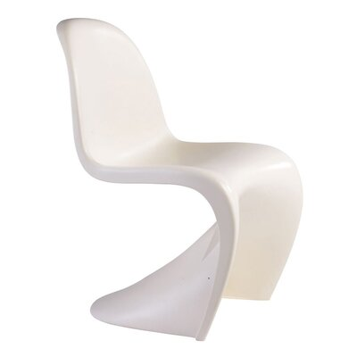 S Side Chair Finish: White