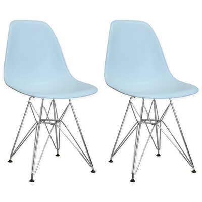 Paris Tower Side Chair Finish: Blue