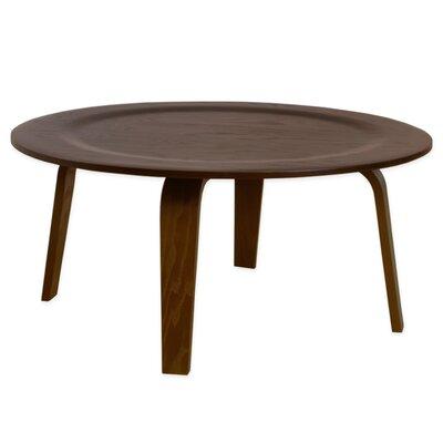 Luna Coffee Table Color: Walnut