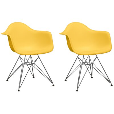Paris Tower Arm Chair Finish: Yellow