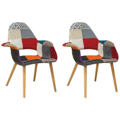 Morza Arm Chair Upholstery: Patchwork