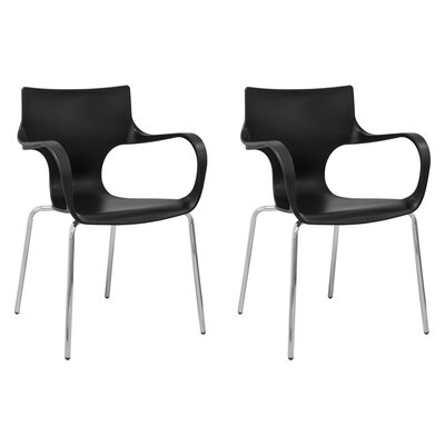 Phin Arm Chair Finish: Black