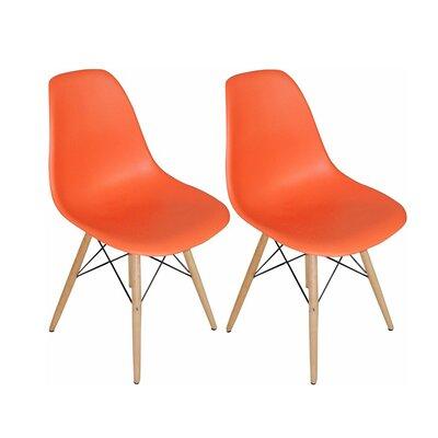 Paris Tower Side Chair Finish: Orange