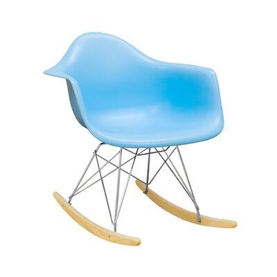 Paris Tower Arm Chair Finish: Blue