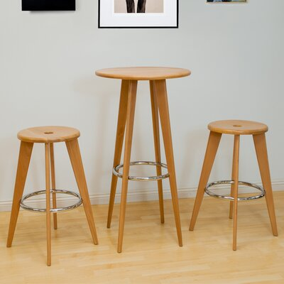 Skylark 3 Piece Pub Table Set