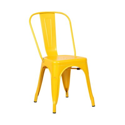 Tolic Side Chair Finish: Yellow
