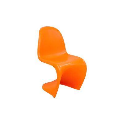 S Side Chair Finish: Orange