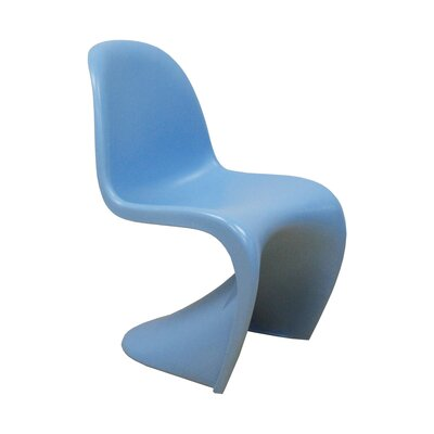 S Side Chair Finish: Blue