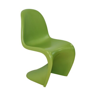 S Side Chair Finish: Green
