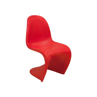 S Side Chair Finish: Red