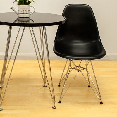 Paris Tower Side Chair Finish: Black
