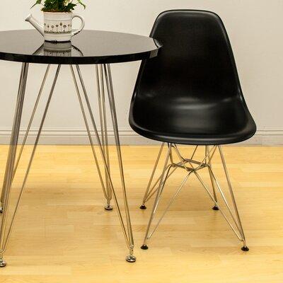 Paris Tower Side Chair Finish: Black