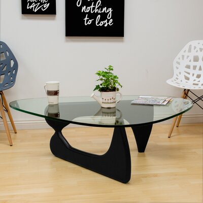 Tribeca Coffee Table Base Color: Black