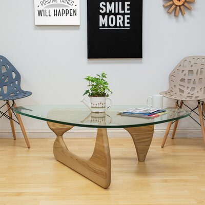 Tribeca Coffee Table Base Color: Natural