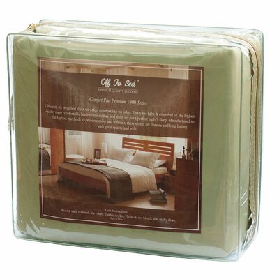 6 Piece Comfort Deep Pocket Sheet Set Color: Sage, Size: Full