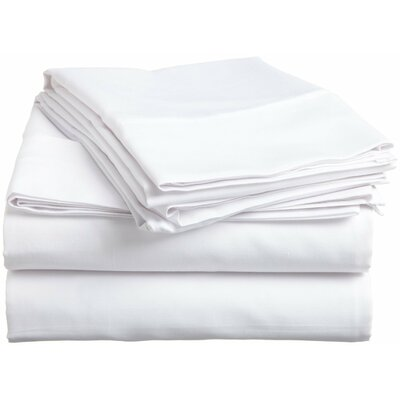 6 Piece Comfort Deep Pocket Sheet Set Color: White, Size: Full