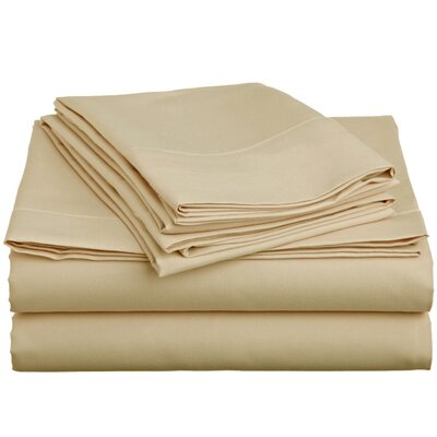 6 Piece Comfort Deep Pocket Sheet Set Color: Cream, Size: Full