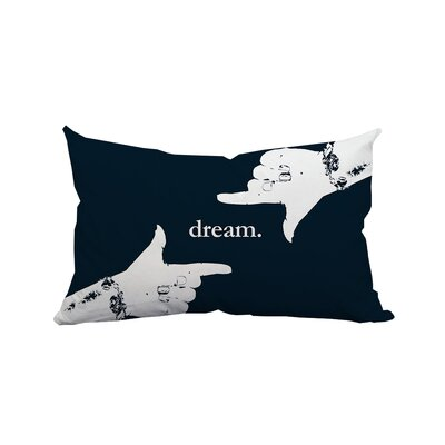 Dream Textual Lumbar Pillow