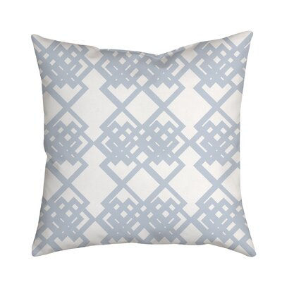 Summer Escapade Geometric Throw Pillow Size: 20 H x 20 W x 2 D, Color: Blue