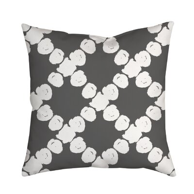 Round the Way Polka Dot Polyester Throw Pillow