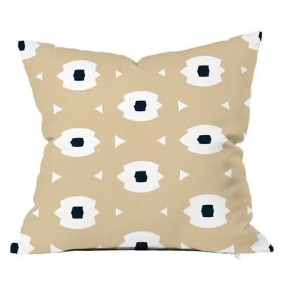 Top Notch Geometric Throw Pillow Size: 18 H x 18 W x 4 D, Color: Navy