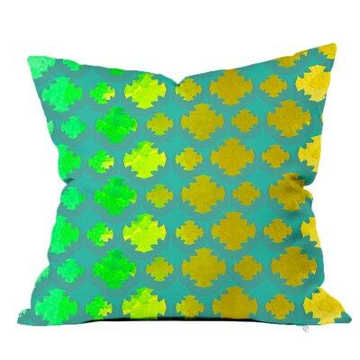 Medallion Watercolor Throw Pillow