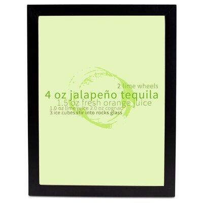 Shake Well Jalapeno II Framed Photographic Print Size: 20