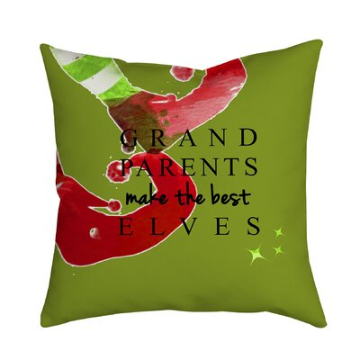 Holiday Treasures Throw Pillow Size: 20 H x 20 W